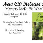 CD Release Piano Recital