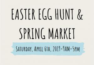 Easter Egg Hunt and Spring Market