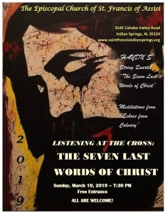 Listening at the Cross: The Seven Last Words of Christ