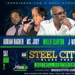 The Steel City Blues Festival Featuring Willie Clayton and more