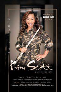 Cafe Nights Presents Kim Scott Live
