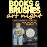 Books and Brushes Art Night