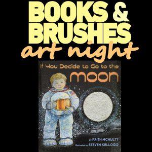 Books and Brushes Art Night