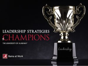 Leadership Strategies of Champions
