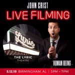 John Crist – Live Filming