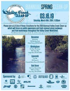 Valley Creek Clean-Up