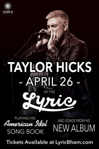 Live at the Lyric: Taylor Hicks