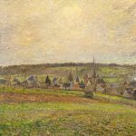 Slow Art Sunday: Le Village d'Éragny (The Village of Éragny)