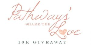 Pathway's Share the Love: 10K Giveaway