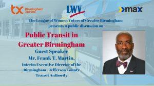 Public Transit in Greater Birmingham