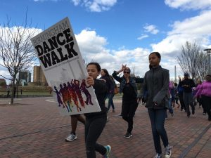 Birmingham Dance Walk - Railroad Park