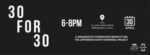 30 for 30: A Grassroots Fundraiser