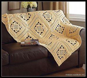 Crochet Circle at Andrea Lucas Studio