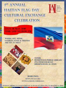 1st Haitian Flag Day Cultural Exchange Celebration