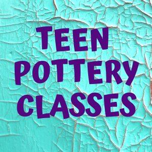 Teen Homeschoolers: Pottery Classes