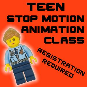 Teen Stop Motion Animation Camp