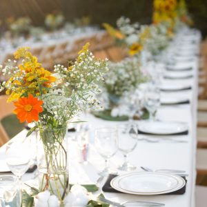 1818 Farms Dinner by the Blooms