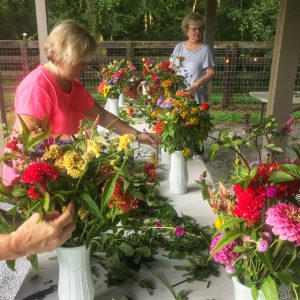 1818 Farms Bloom Stroll and Bouquet Workshop