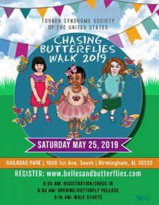 Chasing Butterflies Walk | Turner Syndrome Awarene...