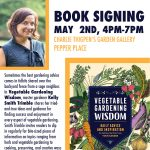 "Book Signing ""Vegetable Gardening Wisdom"" with Kelly Smith Trimble"