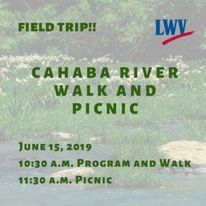 Cahaba River Walk and Picnic