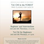 Monday Night Tai Chi for Beginners