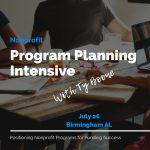 Nonprofit Program Planning Intensive Workshop