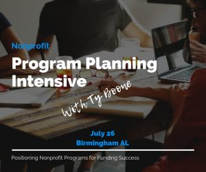 Nonprofit Program Planning Intensive Workshop