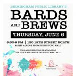 Bards & Brews Open Mic at Birmingham Art Crawl