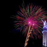 Annual Fireworks Show at Vulcan Park and Museum