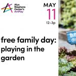 Free Family Day at ArtPlay: Fun in the Garden