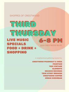 Third Thursdays in Crestwood