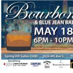 Bourbon Blue Jean Ball