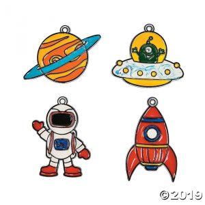 Drop-In Craft: Space Suncatchers