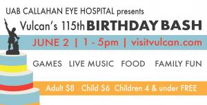 Vulcan's 115th Birthday Bash