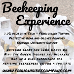 Beekeeping Experience and Hive Tour
