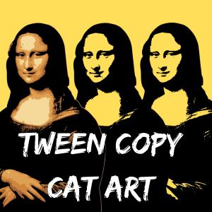 Tween Copy Cat Art