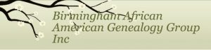 Birmingham African American Genealogy Group Monthly Meeting for July