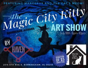 Magic City Kitty Art Show