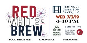 3rd Annual Red, White and Brew