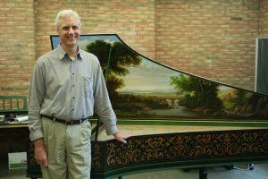 Edward Parmentier, harpsichord