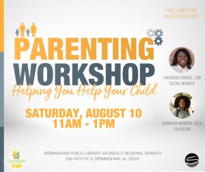 Help You Help Your Child Parenting Workshop