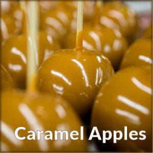 Teen Caramel Apples