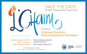 2019 L'Chaim Honoring Holocaust Survivors, From Ge...