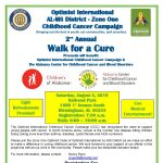 2nd Annual Walk for a Cure