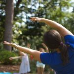 Family Yoga in the Gardens