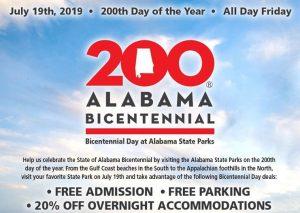 Bicentennial Day at Alabama State Parks