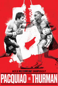 World Welterweight Championship: Pacquiao vs Thurm...