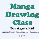 Manga Drawing Class for Teens & Tweens