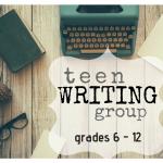 Teen Writing Group